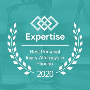 Expertise Award - Best Personal Injury Attorney Phoenix