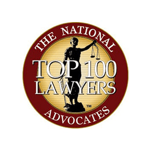 The National Advocates Top 100 Lawyers Award