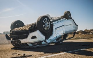 SUV Vehicle Rollover Accident