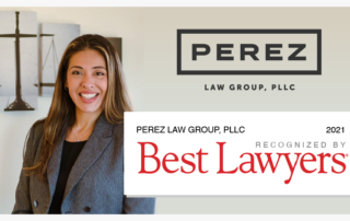 Perez Law Group Best Law Firm Banner