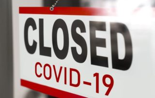 Closed Covid-19 Sign