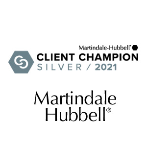Martindale Award - Client Champion 2021