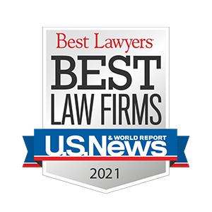 US News Best Law Firm Award