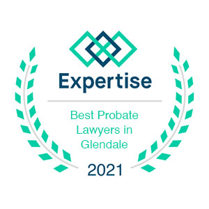 Expertise Best Probate Lawyer in Glendale 2021 Award